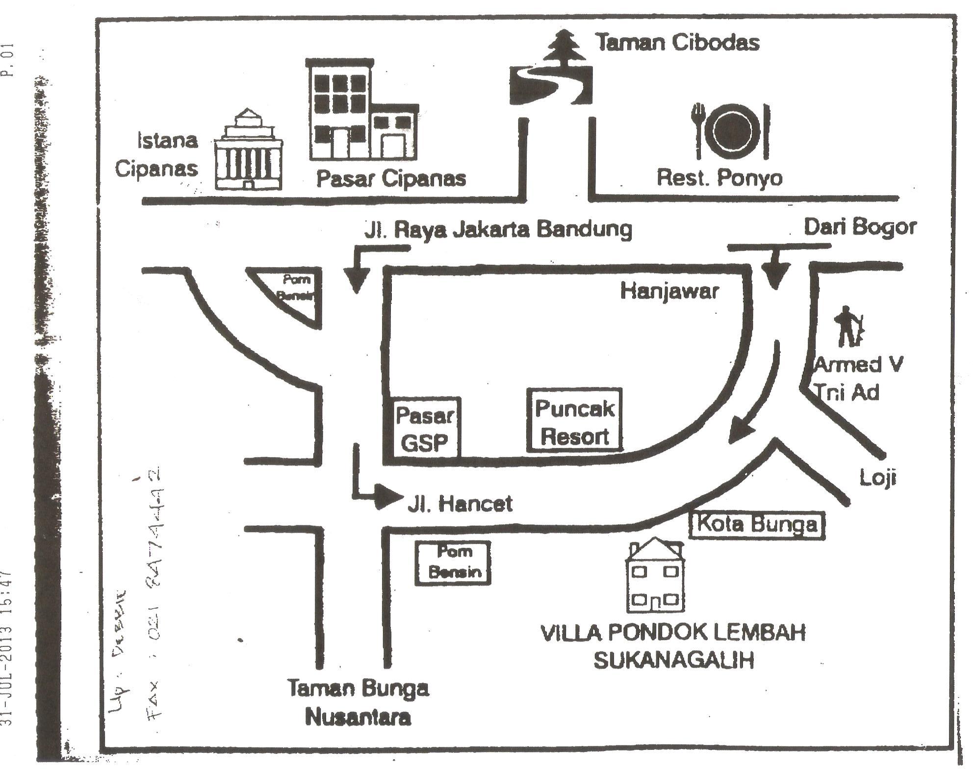 peta lokasi ppn gkii 2013